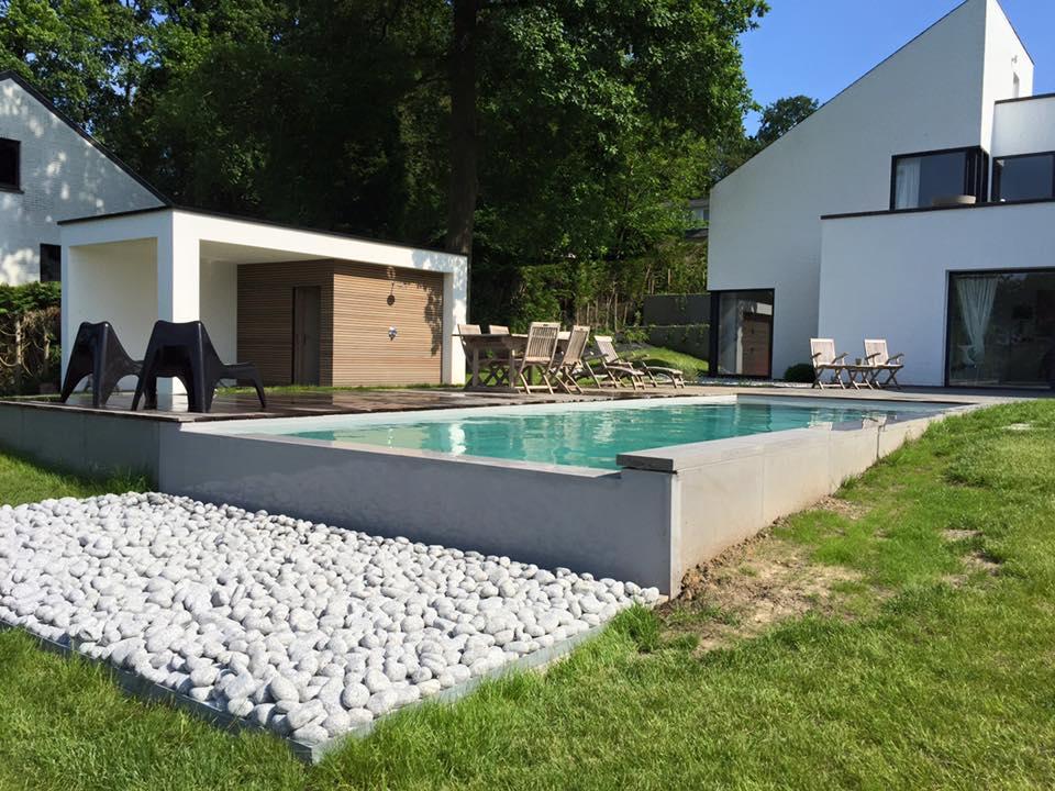 Construction De Piscine Enterree A Namur Et En Belgique